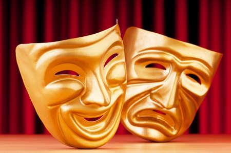mascara de teatro: M�scaras con el concepto de teatro