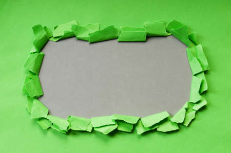 Paper pieces with space for your message photo