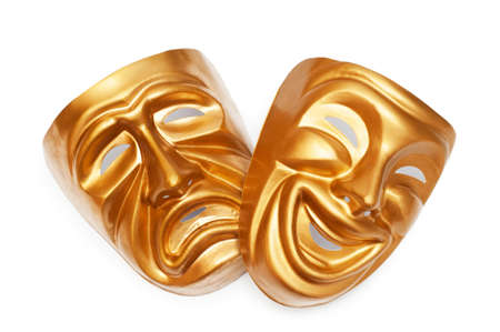 Masks with the theatre concept Stock Photo - 9546711