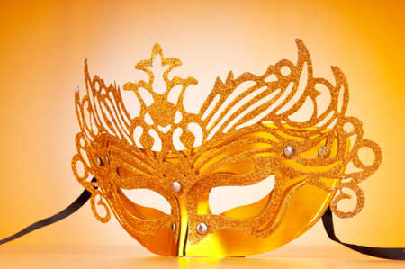 Masks with theatre concept Stock Photo - 9546417