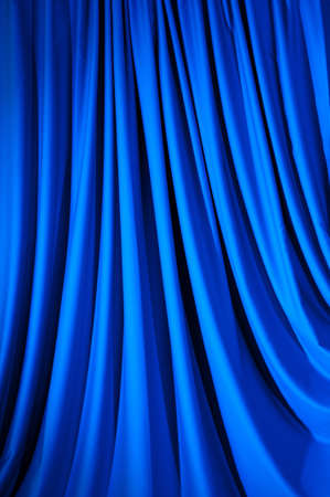 Brightly lit curtains for your background photo