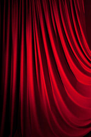 Brightly lit curtains for your background Stock Photo - 9715787