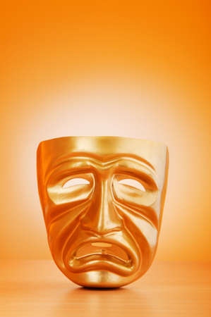 Masks with the theatre concept Stock Photo - 9715761