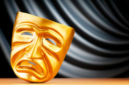 Masks with the theatre concept Stock Photo - 9715702