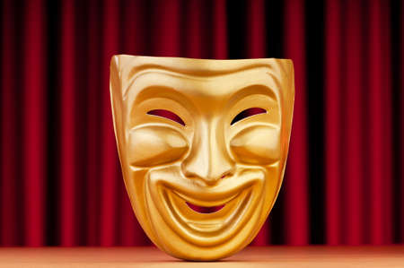 Masks with the theatre concept Stock Photo - 9716496