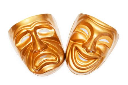 las emociones: M�scaras con el concepto de teatro