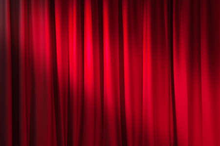 Brightly lit curtains for your background Stock Photo - 9753033