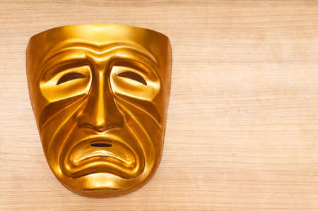 Masks with the theatre concept Stock Photo - 9752707