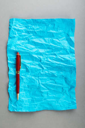 Pen on the sheet of paper Stock Photo - 9917584