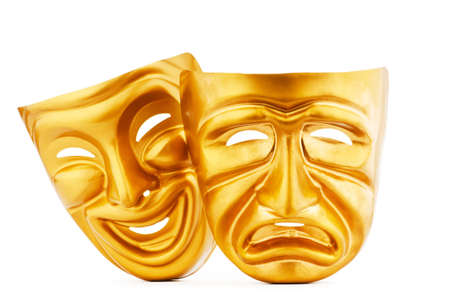 theaters: Masks with the theatre concept