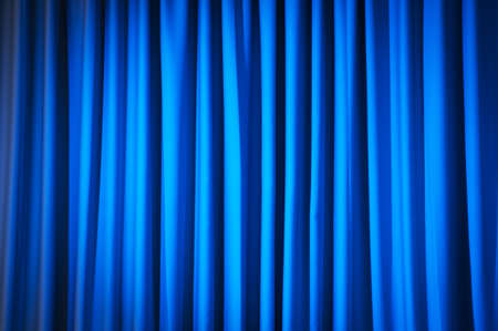 curtain: Brightly lit curtains for your background Stock Photo