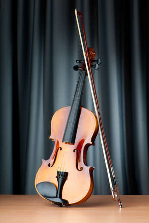 violas: Music concept with violin