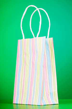Shopping concept with bags photo