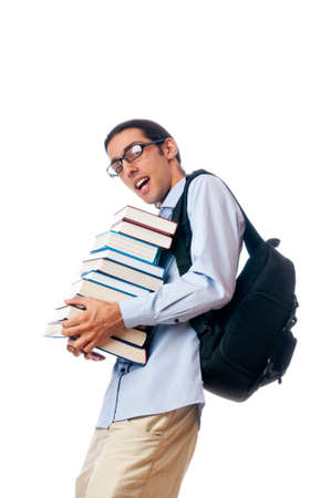 Education concept with student Stock Photo - 10308301