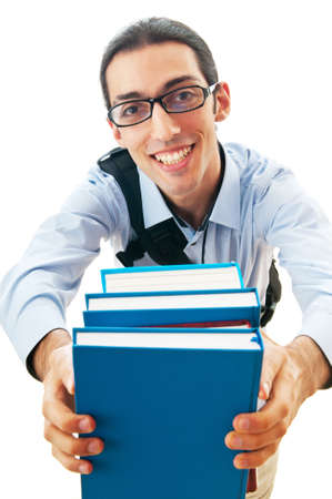 Education concept with student Stock Photo - 10308562