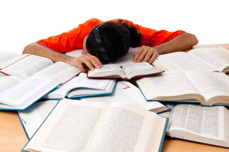 Education concept with student Stock Photo - 10308420