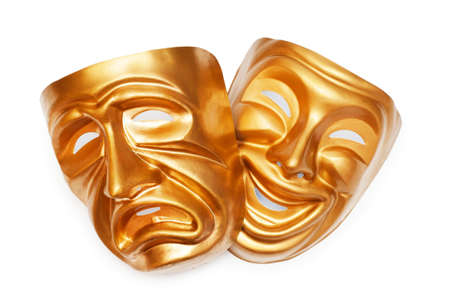 Masks with the theatre concept Stock Photo - 10289285