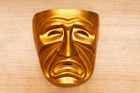 Masks with the theatre concept Stock Photo - 10289062