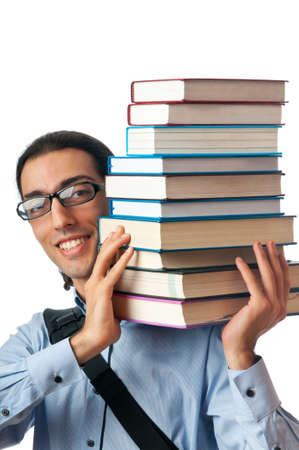 Education concept with student Stock Photo - 10344574