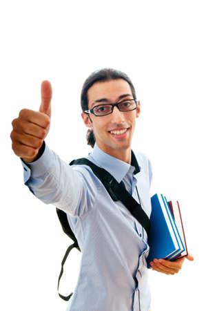 Education concept with student Stock Photo - 10344542