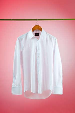 Shirt hanging on the hanger Stock Photo - 10306543