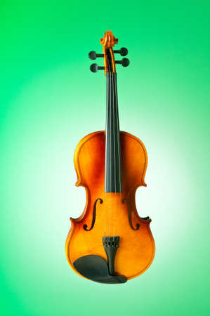 Music concept with violin