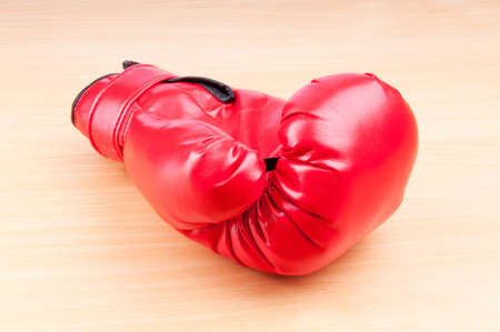 Red boxing gloves on the background Stock Photo - 10561044