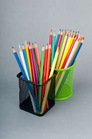 Colourful pencils on the background Stock Photo - 10616030