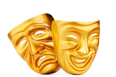 contrasts: Masks with the theatre concept