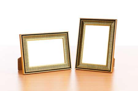 Photo Frames auf dem Tisch