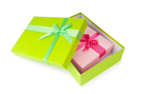 Gift boxes in celebration concept Stock Photo - 10674449