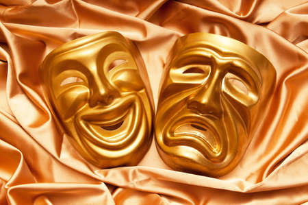 Masks with the theatre concept Stock Photo - 10675229