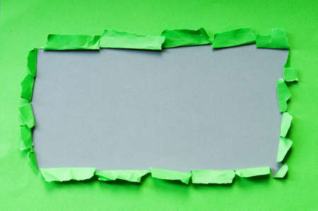 Space for your message on torn paper photo