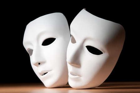 theatre: Masken mit Theater-Konzept