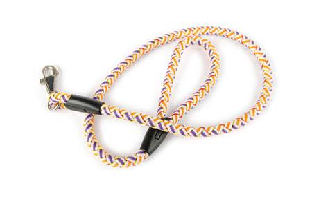Dog collar isolated on the white background photo