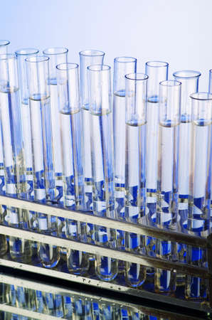 retort: Glass tubing in the lab