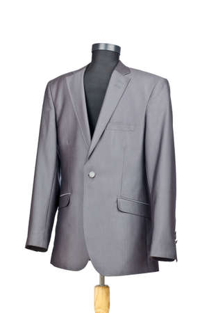 Male suit isolated on the white Stock Photo - 11129775