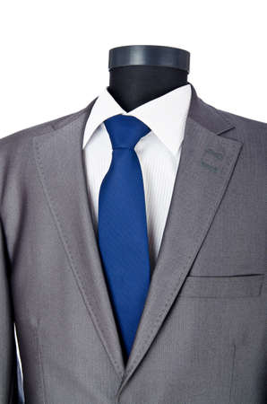 Male suit isolated on the white Stock Photo - 11129291