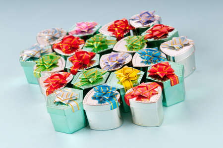 Gift boxes in celebration concept Stock Photo - 11138048