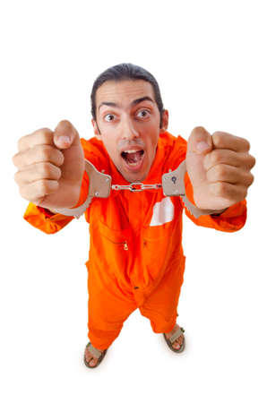 Man arrested for his crimes Stock Photo - 11193493