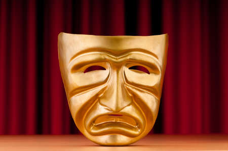Masks with the theatre concept Stock Photo - 11181788