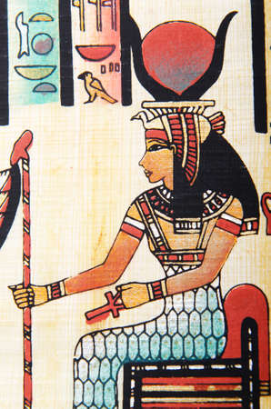 Egyptian papyrus as a background Stock Photo - 11336850