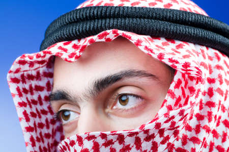 Portrait of young arab Stock Photo - 11364882