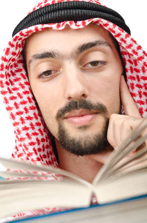 Education concept with young arab Stock Photo - 11364883