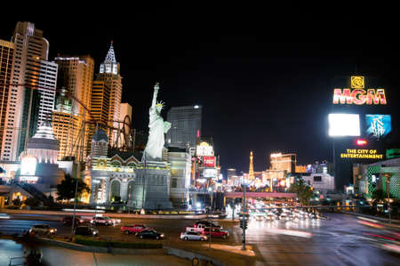 Night scenes from Las Vegas