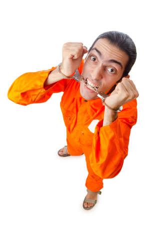 Man arrested for his crimes Stock Photo - 11360445