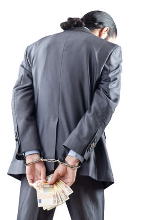 laundering: Man handcuffed for his crimes