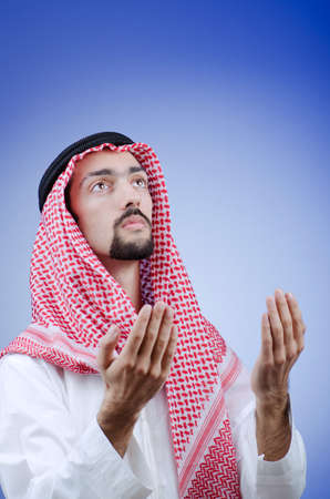 Diversity concept with young arab Stock Photo - 11419640