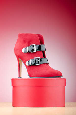 Female shoes in fashion concept Stock Photo - 11404737