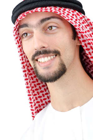 thoub: Diversity concept with young arab